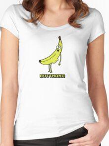 Buttnana Women's Fitted Scoop T-Shirt