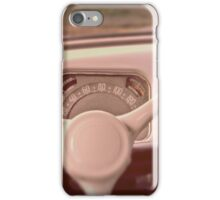 1950 Citroen Traction 11B speedometer iPhone Case/Skin