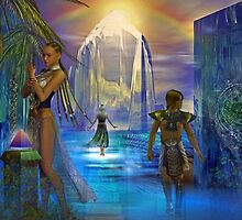Gateway to the lost city by shadowlea