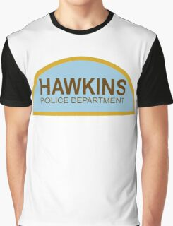 STRANGER THINGS - Hawkins Police Department Graphic T-Shirt