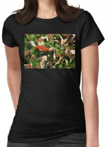 Foliage and Grass Womens Fitted T-Shirt