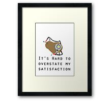 How Are You Holding Up? Framed Print
