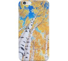 Colorado Aspens iPhone Case/Skin