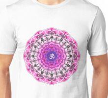 PINK OM MANDALA Unisex T-Shirt
