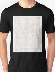 USGS TOPO Map Arizona AZ White Hills 315180 1960 62500 Unisex T-Shirt