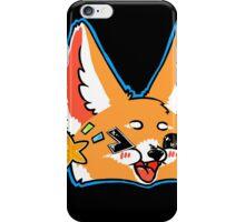 Fennec Fox Chibi Blue iPhone Case/Skin