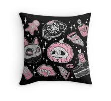 ♥ SPOOKS or CREEPS ? ♥  Throw Pillow