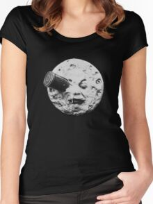 A Trip to the Moon Women's Fitted Scoop T-Shirt