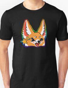 Fennec Fox Chibi Rainbow T-Shirt