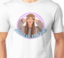 "Kinda Sarah ""Stay Rad Stay Bad"" Unisex T-Shirt"