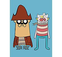 Marvelous Misadventures of Finn and Jake Photographic Print