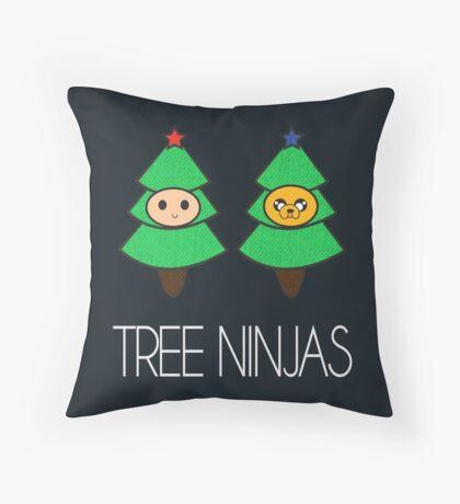 TREE NINJAS Throw Pillow