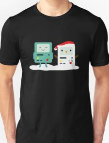 Building SnowMO (Red) Unisex T-Shirt