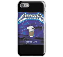 Ride The Latte iPhone Case/Skin