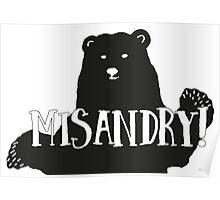 Misandry!  Poster