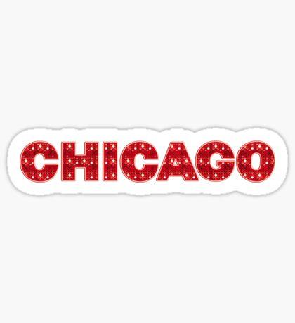 Chicago Musical II Sticker