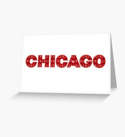 Chicago Musical II Greeting Card