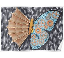 Schmetterling Evolution Poster