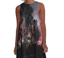 Sundown Syndrome A-Line Dress
