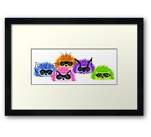 Prickle Party Framed Print