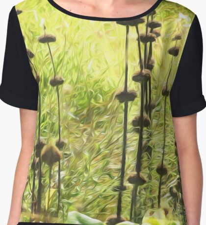 Herbaceous by David Tovey Chiffon Top