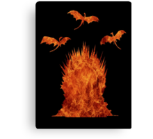 Dragons' Throne Canvas Print