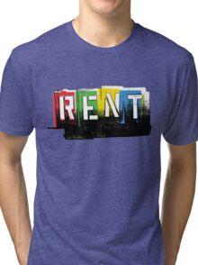 Rent Logo Color Tri-blend T-Shirt