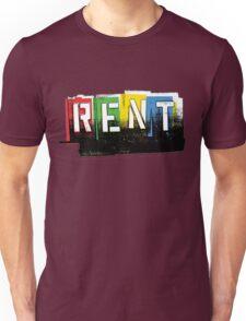 Rent Logo Color Unisex T-Shirt