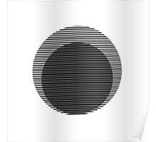 Optical circles Poster
