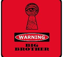 warning. big brother. by Val Goretsky