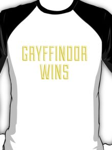 GRYFFINDOR WINS T-Shirt