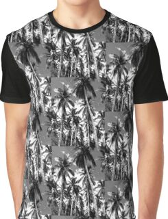 Palm Trees in Mono Graphic T-Shirt
