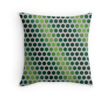 Pattern in circles Throw Pillow