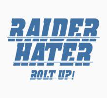 RAIDER HATER - BOLT UP BLUE Kids Tee