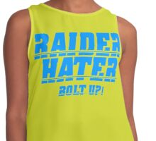 RAIDER HATER - BOLT UP BLUE Contrast Tank