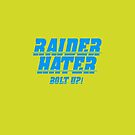 RAIDER HATER - BOLT UP BLUE by joebugdud