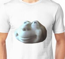Disembodied Botox Injected Face of Thomas the Tank Engine Unisex T-Shirt