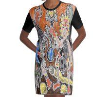 crow ceramony   Graphic T-Shirt Dress
