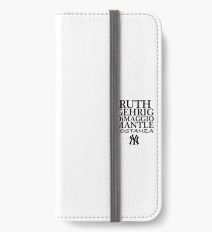 Costanza - Yankees iPhone Wallet/Case/Skin