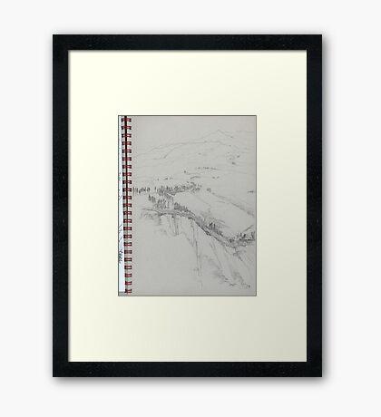 Volterra2 Framed Print