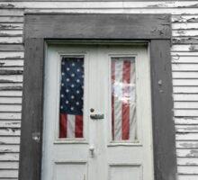New England DoorYard Sticker