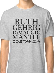 COSTANZA YANKEES Classic T-Shirt