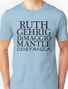 COSTANZA YANKEES Unisex T-Shirt