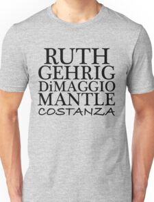 COSTANZA YANKEES Unisex T-Shirt