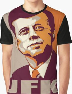 JFK Shepard Hope Style Poster (Sunset) Graphic T-Shirt