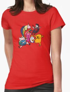 NINJIA CREW Womens Fitted T-Shirt