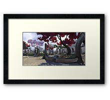 Vulkhel Guard Framed Print