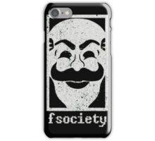 Mr. Robot - F Society iPhone Case/Skin