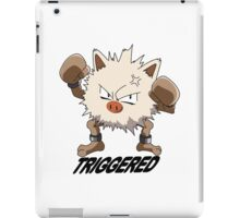 Triggered Primeape iPad Case/Skin