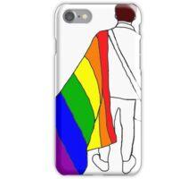 nick martin lgbt+ pride flag  iPhone Case/Skin